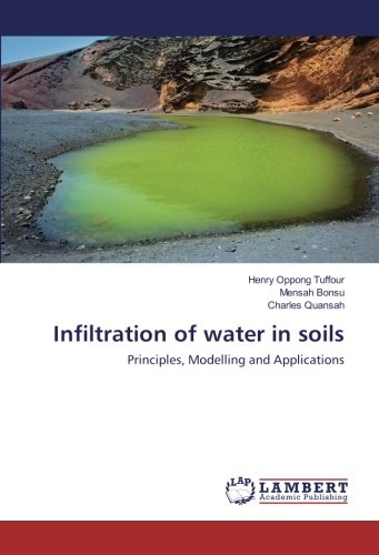 9783659762024: Infiltration of water in soils: Principles, Modelling and Applications