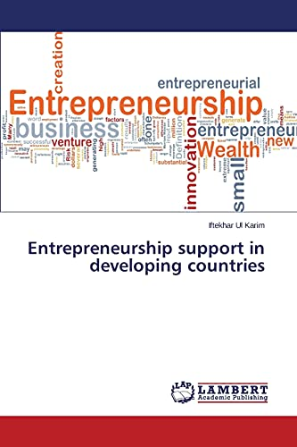 9783659762697: Entrepreneurship support in developing countries