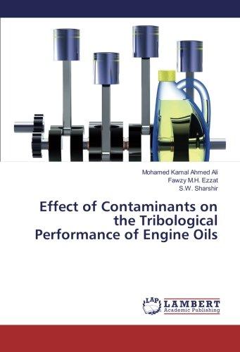 Effect of Contaminants on the Tribological Performance: Ali, Mohamed Kamal