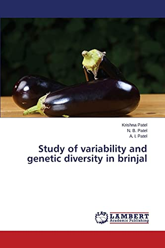 9783659765605: Study of variability and genetic diversity in brinjal