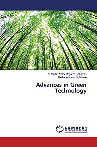 9783659766893: Advances in Green Technology