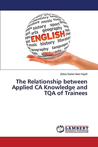 The Relationship between Applied CA Knowledge and TQA of Trainees: Zahra Sadat Haeri Najafi