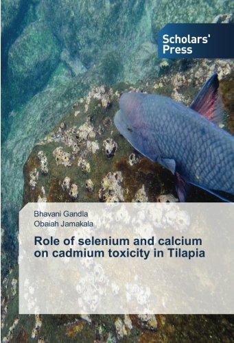 Role of selenium and calcium on cadmium toxicity in Tilapia: Bhavani Gandla
