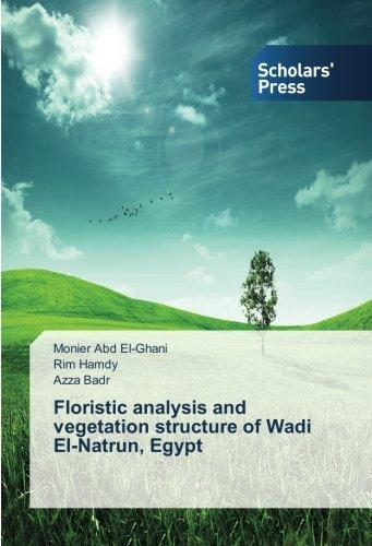 Floristic analysis and vegetation structure of Wadi: Abd El-Ghani, Monier