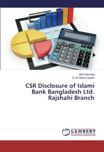 CSR Disclosure of Islami Bank Bangladesh Ltd. Rajshahi Branch (Paperback): Afia Fahmida, S. M. ...