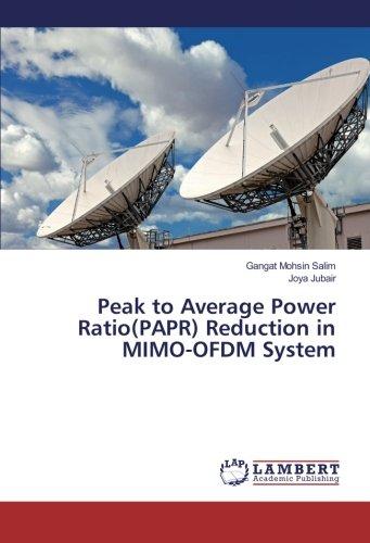 Peak to Average Power Ratio(PAPR) Reduction in: Mohsin Salim, Gangat