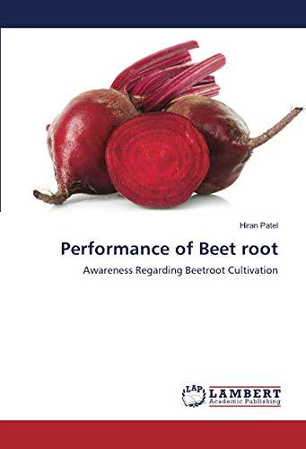 9783659902116: Performance of Beet root: Awareness Regarding Beetroot Cultivation