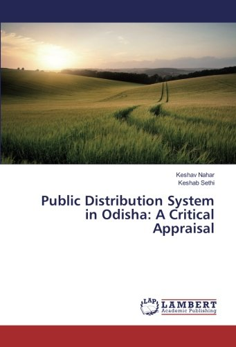 9783659934506: Public Distribution System in Odisha: A Critical Appraisal