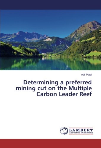 9783659934995: Determining a preferred mining cut on the Multiple Carbon Leader Reef