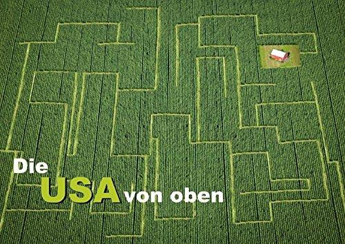 9783660022568: Die USA von oben (Posterbuch DIN A3 quer): Perspektivwechsel (Posterbuch, 14 Seiten)