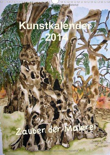 9783660096026: Kunstkalender 2014 - Zauber der Malerei (Wandkalender 2014 DIN A3 hoch): Mit der Malerei durch das Jahr mit eindrucksvollen Motiven (Monatskalender, 14 Seiten)