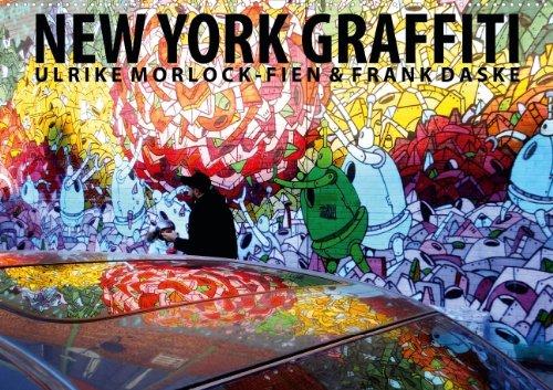 9783660104752: New York Graffiti (Posterbuch DIN A4 quer): Graffiti und Street Art Tour durch New York City Posterbuch, 14 Seiten