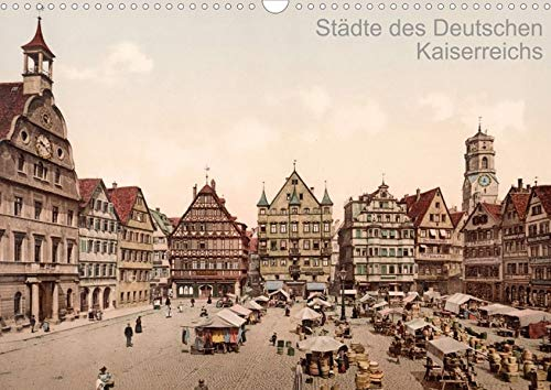 9783660107647: Städte des Deutschen Kaiserreichs  (Posterbuch DIN A4 quer): Deutsche Städte um 1900 in alten Photochromen  Posterbuch, 14 Seiten