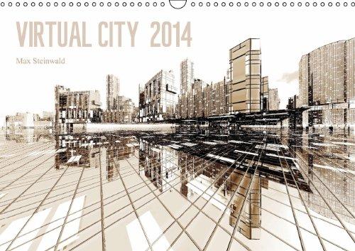 9783660114195: VIRTUAL CITY 2014 (Wandkalender 2014 DIN A3 quer): Virtuelle Architektur - moderne Stadtansichten (Monatskalender, 14 Seiten)