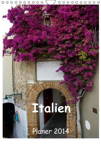 9783660126884: Italien Planer 2014 (Wandkalender 2014 DIN A4 hoch): Die schönsten Küsten Italiens begleiten das ganze Jahr hindurch. (Monatskalender, 14 Seiten)