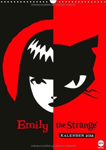 9783660131185: Emily the Strange Posterkalender (Wandkalender 2014 DIN A4 hoch): Posterkalender für Mädchen, die Emily the Strange lieben (Monatskalender, 14 Seiten)