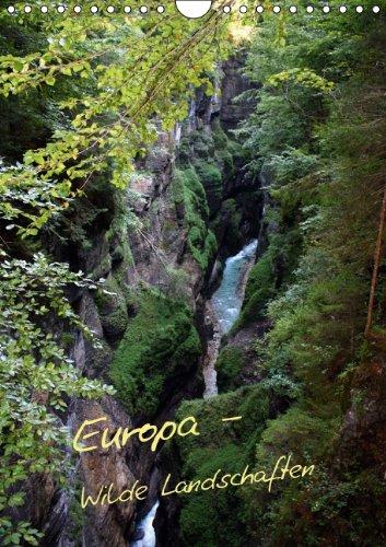9783660147476: Europa - Wilde Landschaften (Wandkalender 2014 DIN A4 hoch): Naturlandschaften in Europa (Monatskalender, 14 Seiten)