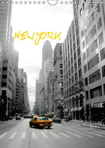 9783660149142: New York (Wandkalender 2014 DIN A4 hoch): Impressionen @ PopArt Style (Monatskalender, 14 Seiten)