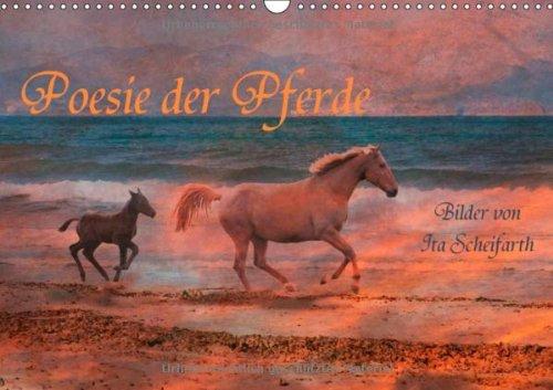 9783660159530: Poesie der Pferde (Wandkalender 2014 DIN A3 quer): Ein Pferdekalender der besonderen Art (Monatskalender, 14 Seiten)
