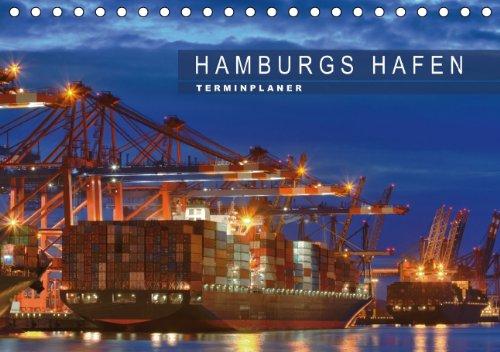 9783660163643: Hamburgs Hafen Terminplaner Tischk