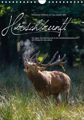 9783660171198: Emotionale Momente: Hirschbrunft (Wandkalender 2014 DIN A4 hoch): Der König der Wälder in dramatischen und wunderschönen Bildern. (Monatskalender, 14 Seiten)