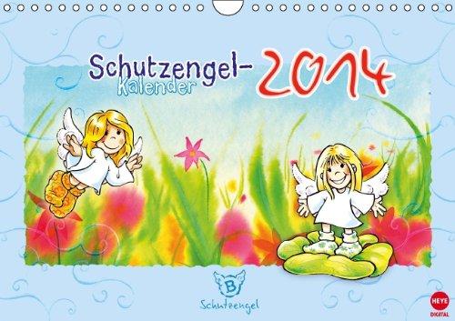 9783660210453: Schutzengelkalender 2014 (Wandkalender 2014 DIN A4 quer): Sinnliche Sprüche begleitet von süßen kleinen Engeln. (Monatskalender, 14 Seiten)