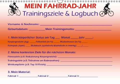 9783660212662: Mein Fahrrad-Jahr: Trainingsziele & Logbuch - Power Year Edition - Author: Buckstern Maximilian