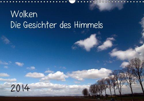 9783660217506: Wolken - Die Gesichter des Himmels (Wandkalender 2014 DIN A3 quer): Wolken und Himmel, eine unerschöpfliche Vielfalt von Bildern (Monatskalender, 14 Seiten)