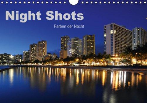 9783660218039: Night Shots Farben Der Nacht Wandkal