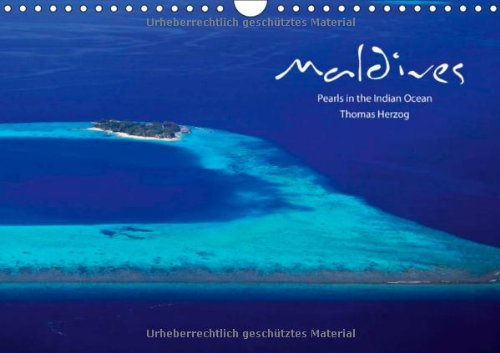 9783660229004: MALDIVES - UK Version (Wall Calendar 2014 DIN A4 Landscape): Pearls in the Indian Ocean (Month Calendar, 14 pages)