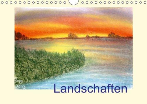 9783660240924: Landschaften Wandkalender 2014 Din A4