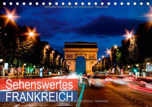 9783660259735: Sehenswertes Frankreich Tischkalender