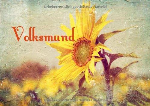 9783660279092: Volksmund (Posterbuch DIN A3 quer): Sprichwörtliches (Posterbuch, 14 Seiten)