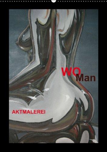 9783660332186: Woman Aktmalerei Wandkalender 2014 Din