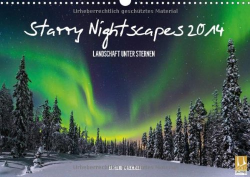9783660336610: Starry Nightscapes 2014 Wandkalender 2