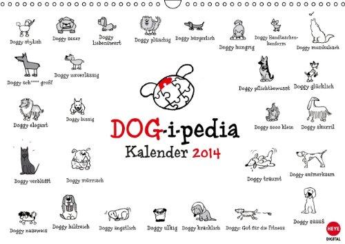 9783660368581: DOG-i-pedia Posterkalender: DOG-i-pedia Posterkale A3 quer