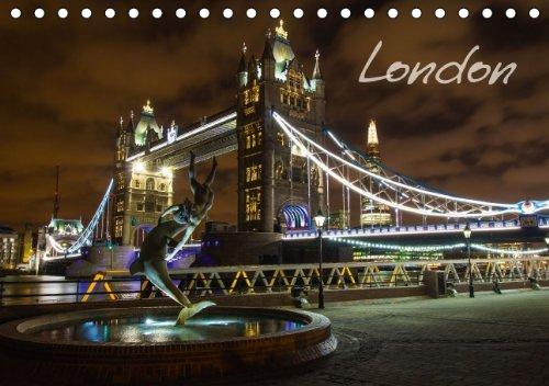 9783660370515: London Tischkalender 2014 Din A5 Quer