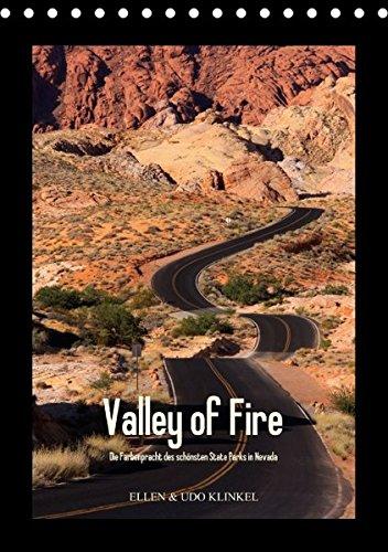 9783660395587: Valley of Fire (Tischkalender immerwährend DIN A5 hoch): Die Farbenpracht des schönsten Nevada State Parks in Bildern. (Tischkalender, 14 Seiten)