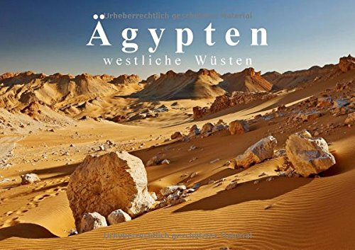 9783660398489: Ägypten - westliche Wüsten (Tischaufsteller DIN A5 quer): Fotoaufnahmen der großartigen Wüstenlandschaften westlich des Nils (Tischaufsteller, 14 Seiten )