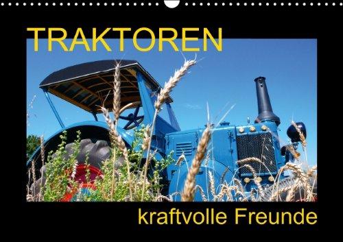 9783660408164: Traktoren kraftvolle Freunde (Wandkalender immerwährend DIN A3 quer): beeindruckende Bilder grandioser Technik und Historie (Monatskalender, 14 Seiten)
