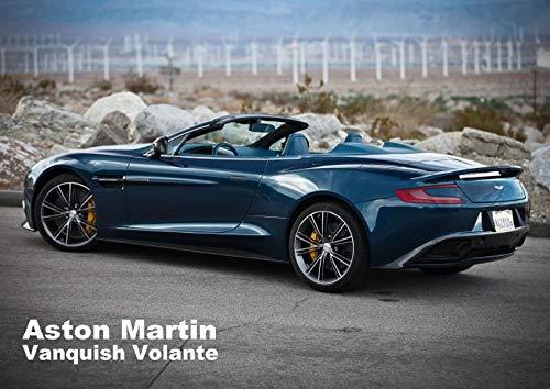 9783660409680: Aston Martin Vanquish Volante (Posterbuch DIN A2 quer): Der Aston Martin Vanquish Volante (Posterbuch, 14 Seiten)