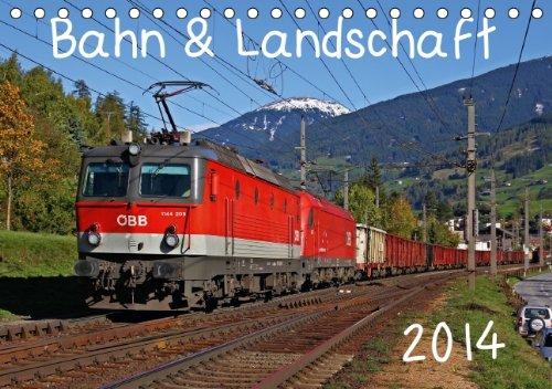9783660423860: Bahn Amp Landschaft 2014 Tischkalend