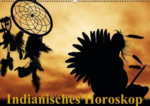 9783660440591: Indianisches Horoskop / Geburtstagskalender (Wandkalender immerw�hrend DIN A2 quer): Tierkreiszeichen der Ureinwohner Nordamerikas (Monatskalender, 14 Seiten)
