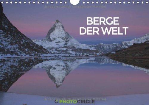 9783660468816: Berge der Welt: Berge der Welt A4 quer