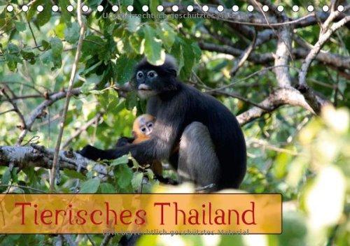 9783660472196: Tierisches Thailand Tischkalender 2014