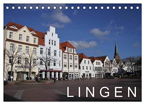 9783660555486: LINGEN / Geburtstagskalender (Tischkalender immerwährend DIN A5 quer): Stadt im Landkreis Emsland (Tischkalender, 14 Seiten)