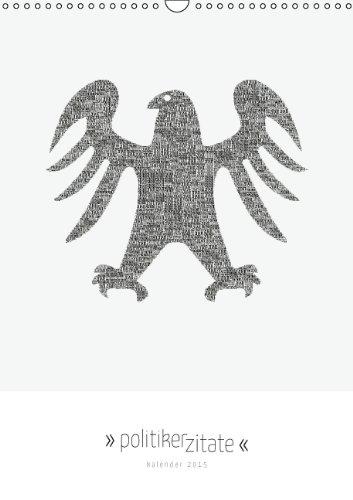 9783660570991: Politiker Zitate Typografischer Kalen