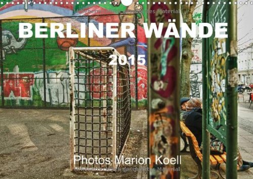 9783660584257: Berliner Wã Nde Wandkalender 2015 Din