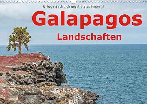 9783660603187: Galapagos Landschaften Wandkalender 2