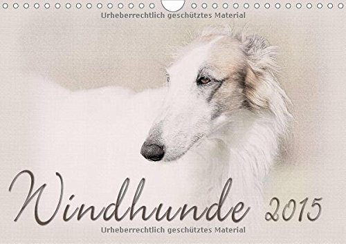 9783660609011: Windhunde 2015 Wandkalender 2015 Din a